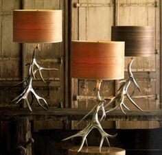 Antler lamps...'