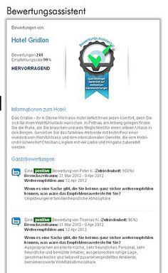 Mehr Direktbuchungen durch Gästebewertungen auf der hoteleigenen Webseite | Fotograf: ncm | Credit:ncm | Mehr Informationen und Bilddownload in voller Auflösung: http://www.ots.at/presseaussendung/OBS_20120505_OBS0001