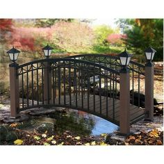 Do you have a small water area in your yard?  Check out this backyard bridge!  On sale now!