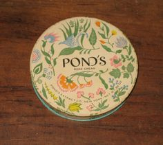 Vintage Face Powder Box Pond's Rose cream unused | eBay