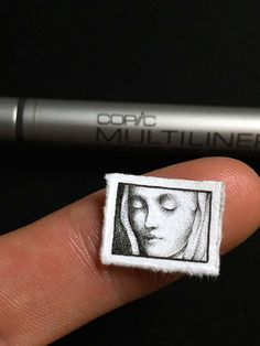 Teeny Micro Drawing with Copic Multiliners ~ tutorial on micro-drawing from Evan Lorenzen