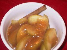 Crock Pot Fried Apples