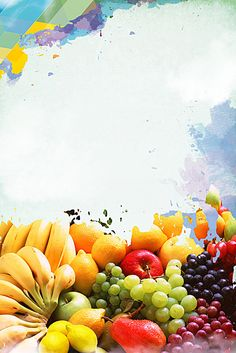Food Background Wallpapers, Food Backgrounds, Background Pictures, Fruit Juice, Fresh Fruit, Fruits Name In English, Visual Advertising, Ice Cream Poster, Vegetable Cartoon