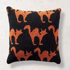Halloween Cat Hook Pillow