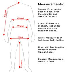 how to measure and fit suit guide - Google Search