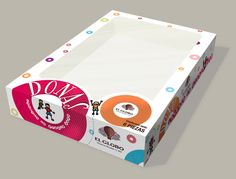 El Globo Donuts package with burgeff.com