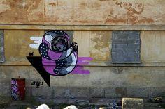 #streetart #goddog LuciAnA, via Flickr.