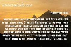 Part One of our most things! This can be pretty , , or downright for an to understand; Introvert, Behavior, Texts, Hate, Thoughts, Writing, Words, Funny, Pretty