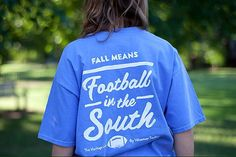 love these tshirts! http://www.volunteertraditions.com/collections/football-tees/products/french-blue-w-white-pocket-tee