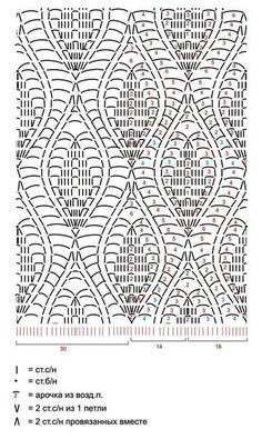 Três lindos vestidos de crochê com gráfico para todos os gostos! grafico vestido folha3