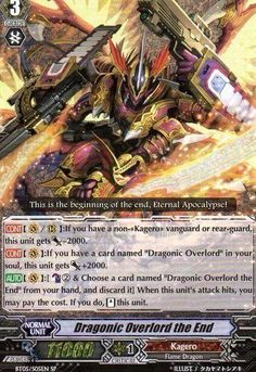 Dragonic Overlord the End |  Kagero | Flame Dragon