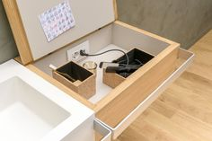 LINK Bathroom cabinet by EVER by Thermomat Saniline design Diego Cisi