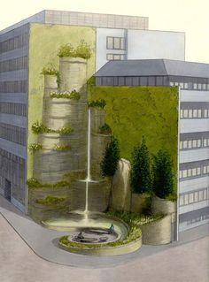 Vegetal City - Luc Schuiten