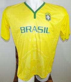 BRAZIL SOCCER JERSEY T-SHIRT DRAKO FÚTBOL ONE SIZE L FOOTBALL WORLD CUP BRASIL #Drako #soccershirts #soccerjerseys #fifaworldcup #football #soccer #worldcup2014 #brazil #brasil