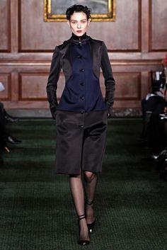 Bill Blass Fall 2012 Ready-to-Wear Fashion Show - Joan Smalls