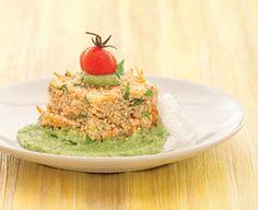 Lo speciale pesto di fagiolini, pinoli e basilico accompagna a perfezione la quinoa e tutti i cereali in chicchi
