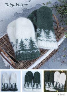 Beas Strikke Design - Lilly is Love Crochet Mittens Free Pattern, Fair Isle Knitting Patterns, Knitting Stitches, Hand Knitting, Crochet Patterns, Fingerless Mittens, Knit Mittens, Knitted Hats, Crochet Stitch