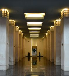Art Deco Lobby by hwags7200, via Flickr