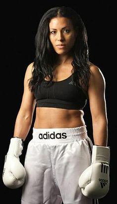Female Boxer Cecilia Braekhus (25-0-0)