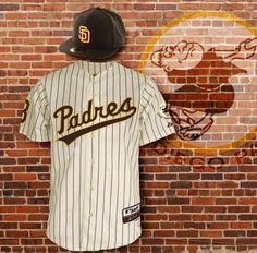 2283aa4d9 Padres uniform San Diego Padres