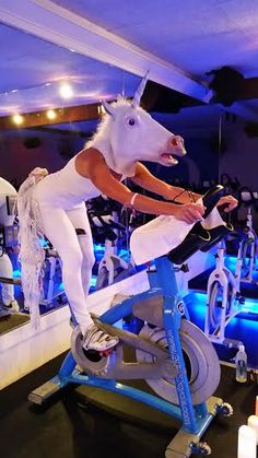 Is your indoor cycling instructor a unicorn?