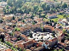 Tresigallo - Piazza della Repubblica - Prov. Ferrara - Italy