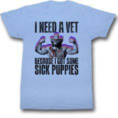 Macho Man: Sick Puppies T-Shirt