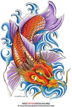 40 Koi Fish Tattoos | Japanese And Chinese Designs