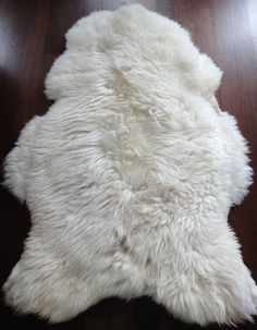 Genuine Natural Sheepskin Rug Sheep Leather Sheep by TatraDesign on Etsy