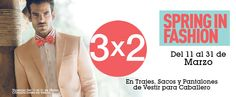 Sears: 3X2 en Trajes, Sacos y Pantalones de Vestir de Caballero Sears cuenta con una muy buena oferta y promoción, pues esta ofreciendo 3X2 en trajes, sacos y pantalones de vestir para caballero. Esta oferta y promoción de Sears México es valida es válida del 11 al 31 de marzo del 2014. Para may... -> http://www.cuponofertas.com.mx/oferta/sears-3x2-en-trajes-sacos-y-pantalones-de-vestir-de-caballero/