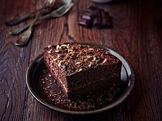 """""""Κέικ"""" σοκολάτας με 3 υλικά μόνο! Εύκολο, γρήγορο, light και πολύ υγιεινό"""