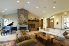 nice Modern & Stunning Home Interior Designs: Extra Comfort - Stylendesigns.com!