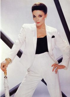 Alexis Carrington Colby. I was named after this lady. My mother was into the soap opera Dynasty!