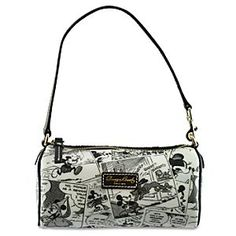 Comic Strip Mickey Mouse Mini Barrel Bag by Dooney & Bourke