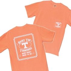Rocky Top Melon Pocket Tee