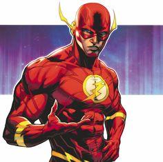 The Flash: Barry Allen Flash Comics, Dc Comics Heroes, Dc Comics Characters, Dc Comics Art, Marvel Dc Comics, Flash Characters, O Flash, The Flash Art, Flash Tv Series