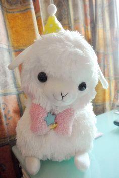 Arpakasso Alpacasso Alpaca Big Plush White Party boy (33cm)   eBay