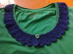 breien en haken in oostende: a crochet collar