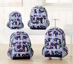 Mackenzie Navy Mermaid Backpack. Pottery Barn Kids BackpackToddler BackpackBack  2 ... 096d01ca0f7c3