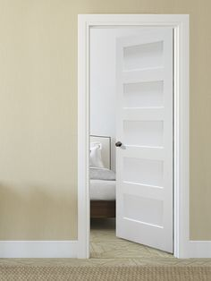 Looking To Create A Clean Modern Look In Your Home Check Out Our Primed Equal Flat Doors Made By Mastercraft