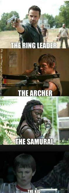 The Walking Dead S4 funny memes