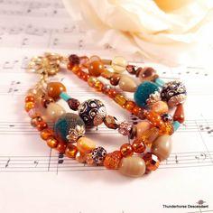 Agate Stone, Stone Beads, Strand Bracelet, Beaded Bracelets, Crystal Beads, Crystals, Free Cards, Boho Bedding, Acrylic Beads