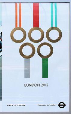 Transport for London poster by bowroaduk, via Flickr