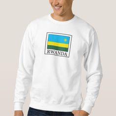 Shop Rwanda sweatshirt created by KellyMagovern. Cool Logo, Graphic Sweatshirt, T Shirt, Rwanda Flag, Kids Outfits, Fitness Models, Sweatshirts, Flags, Sweatshirt
