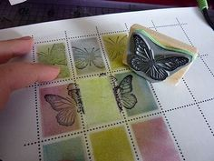 How to create faux postage for mail art