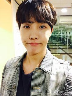 J-Hope - BTS_Official weibo [151103] | btsdiary