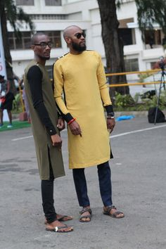African fashion wear for male African Men Fashion, Africa Fashion, Fashion Tips For Women, Nigerian Men Fashion, Fashion Wear, Look Fashion, Street Fashion, Mens Fashion, African Attire