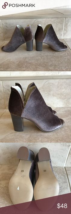 Steve Madden velvet women booties Brand new elegant velvet women booties Steve Madden Shoes Ankle Boots & Booties