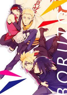 Boruto: Naruto the Movie, NARUTO, Uchiha Sasuke, Uzumaki Naruto, Uzumaki Boruto