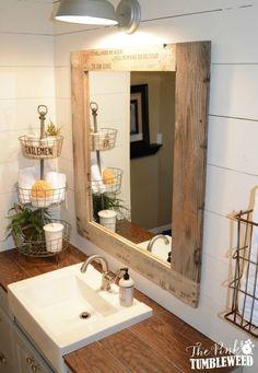 Rustic Bathroom More